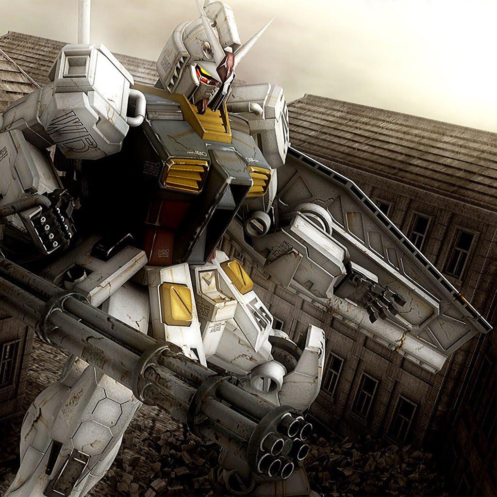 Iphone wallpaper gundam - 4 Wallpaper Anime Gundam 1024x1024 Blog Nobon