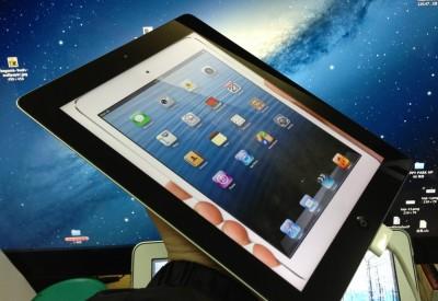 【極上林檎】iPadでiPad miniのサイズを体感できる壁紙www