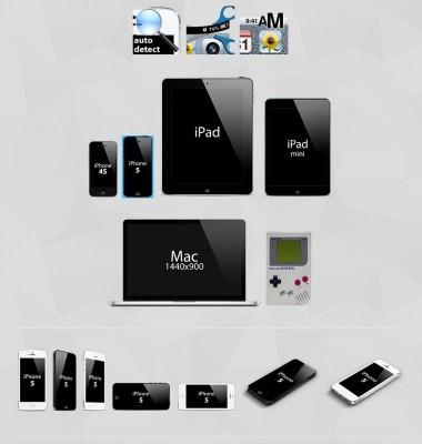 【極上林檎】iPhone Screenshot Maker: iPhoneやiPadのハメ込み画像ジェネレーター!!
