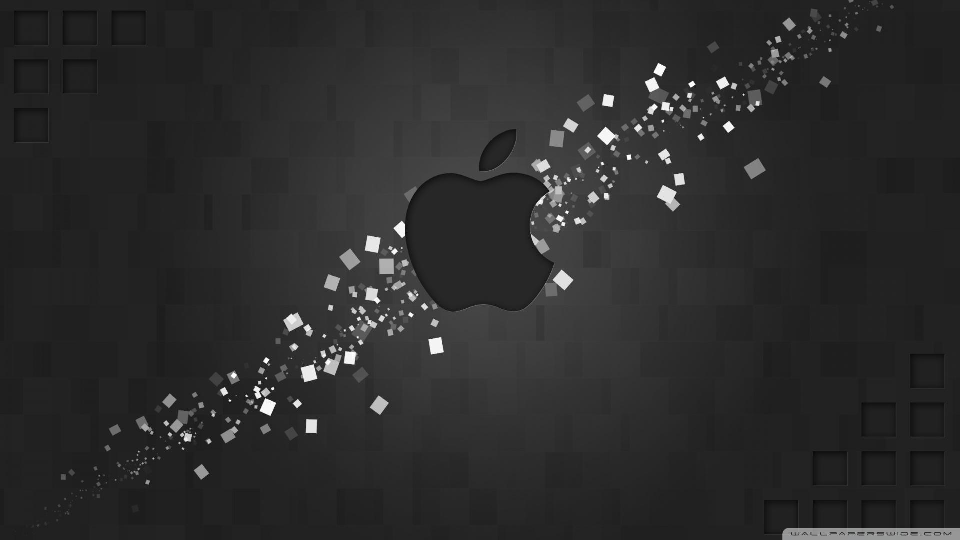Hi tech apple logo wallpaper 1920×1080