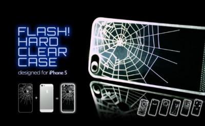着信で光るiPhone5ケース「Applus FLASH for iPhone5」 #iphonejp