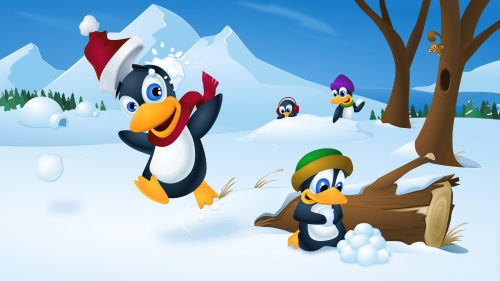 christmas_tux_2010_by_klowner-d34chbm
