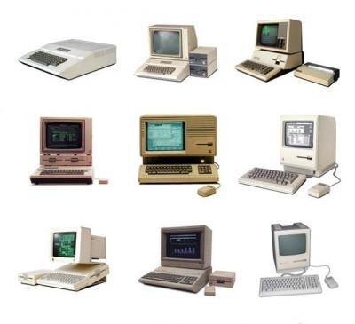 アイブの凄さが実感できるアップル製品(1977 – 現在)を一枚にまとめた画像