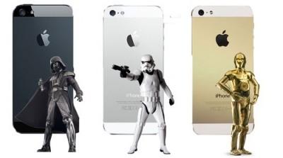 iPhone 5sのカラーモデルはスターウォーズ?? #iphonejp