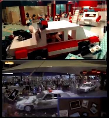 【動画】ブルース・ブラザースのカーチェイスをLEGOで再現!!