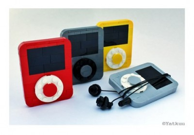 【LEGO】レゴで作られた原寸大 iPod Nano 3rdがステキ過ぎ! #applejp