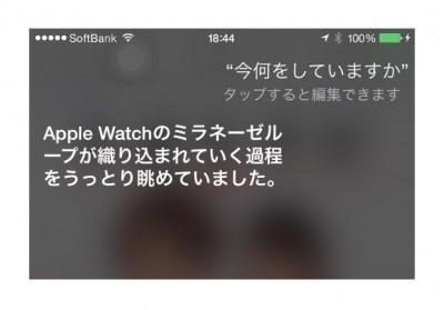 日本語Siriさんの「Apple Watch」的珍回答まとめ #applejp