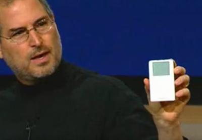 【動画】初代「iPod」発表から14年 – 発表するジョブズがふっくらでニンマリww