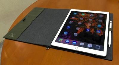 iPad Pro用多機能フリップケース「Flip Note Case for iPad Pro」が届いたよww #applejp #ipadjp