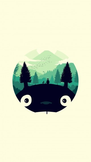 papers.co-ao36-totoro-art-illust-simple-cute-34-iphone6-plus-wallpaper