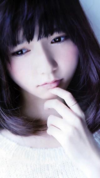 [750×1334] 厳選 iPhone 6 / 6s 壁紙 21 – 日本美女の顔アップ – 54枚 #applejp #iphonejp