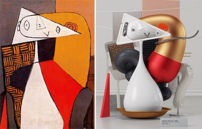 3D彫刻としてピカソの奇妙でシュールな絵画を再現すると・・・