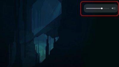 iOS 11では「音量表示」が大きく変更されてるぞ!地味だけど^^;