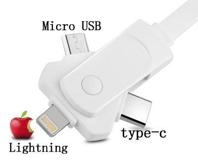【注目商品】Amazonタイムセール「ワHOISTAC 3in1 Lightning type-c Micro USB充電ケーブル – 679円(32%OFF)」他 [10/18] #AmazonJP #アマゾン