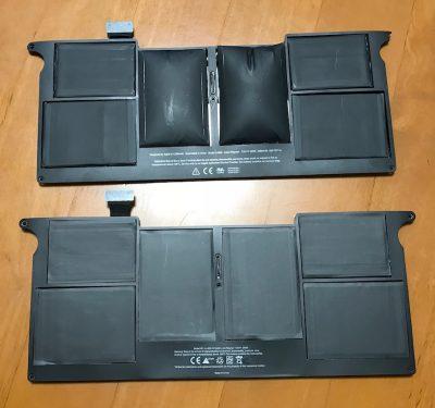 MacBook Airのバッテリー膨張!超簡単交換作業(バッテリー交換方法)
