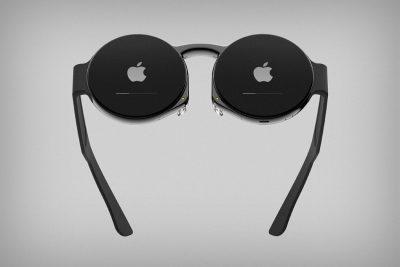 ジョブズの丸メガネ風「Apple Glass」のコンセプト画像 #applejp