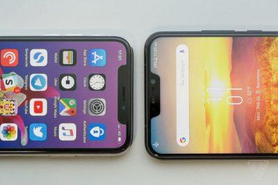 iPhone Xそっくり瓜二つのASUS「Zenfone 5」登場