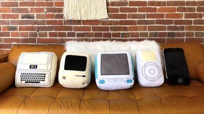 Apple製品風クッション「The Iconic Pillow Collection」がステキwww