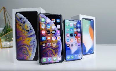iPhone XS Maxと iPhone Xの動作速度比較動画