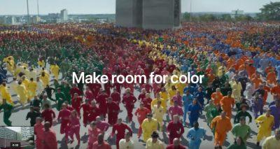 Apple、iPhone XRのCM「Color Flood」を公開