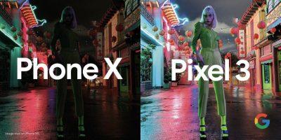 Googleが「Pixel 3」と「iPhone XS」の暗所撮影比較広告を公開
